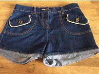 Girls Tu Denim Shorts Age 11 Years