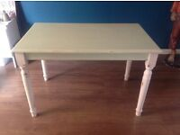 Shabby chic painted pine table