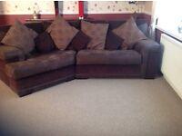 Corner sofa plus chair