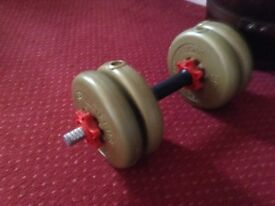 Weights for weightlifting