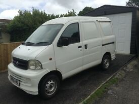 Small van low mileage, two seats clean and reliable