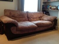 Two two-seater sofas for sale