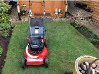 Mountfield laser delta lawn mower