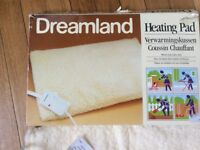 Dreamland Heating Pad warms your aches away back aches/elderly