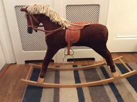 Beautiful child's rocking horse