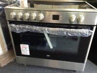 Beko 90cm electric range cooker RRP £500 price £420 new/graded 12 month Gtee