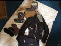 Stella McCartney Vintage Collectable Ski Wear UK 10/12 & Snow Boots 41/8