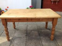 FARMHOUSE TABLE -can deliver