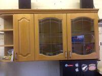 Free kitchen units.