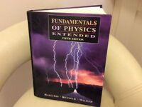 Fundamentals of Physics college textbook
