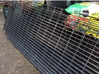 Galvanised Grids for water features or landscaping