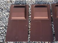 Tegral turf brown roof vents