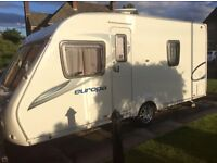 Sterling europa 470 fixed bed 4 berth with mover