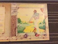 Vinyl Album. Elton John. Goodbye Yellow Brick Road. Double album