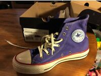 New Size 3 Purple Converse