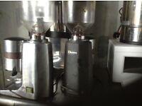 Coffee grinder,quasar,£195.00, choice of colours