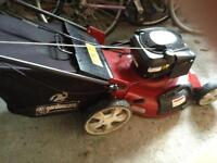 Briggs and Stratton Petrol Lawnmower (Power Assisted)