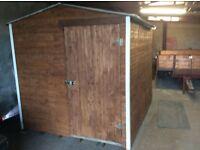 8/6 garden shed