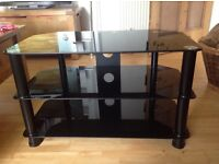 Black television stand - £30 ono.