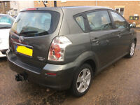 2007 57 TOYOTA COROLLA 1.8 VERSO T3 VVT-I 5d 128 BHP *PART EX WELCOME*24 HOUR INSURANCE*WARRANTY*