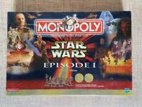 Star wars episode 1 Monopoly Collector Edition Brand New Shrink Wrapped