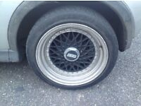 BBS wheels for sale. Lots of tread!!!