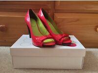 Boden Peep Toe Heels With Box