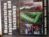 Manufacturing Egineerung and Technology (4th Edition)