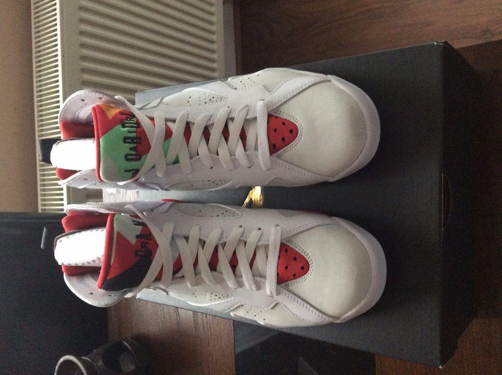 sale retailer 7ec5f 01a36 Nike Air Jordan 7 Retro Hare Brand new Unworn Original box Proof of  purchase UK size 6.5