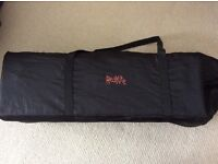 Travel cot redkite with carry case