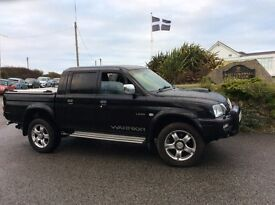 MITSUBISHI L200 REDUCED Lovely condition crew cab