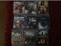 18 Playstation 3 Games all boxed .. £70 for them all