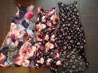 Girls Dress Bundle Age 10 - 12 years