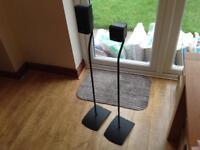 Bose UFS 20 Surround Sound Home cinema speaker floor stands