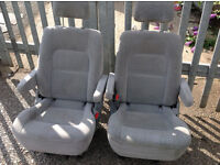 Twin arm captain seats widely used in diy-van conversions-vw camper-Talbot express etc