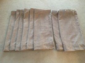 MOTORHOME CURTAINS BEIGE IN COLOUR NEW AND UNUSED.