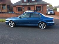 2002 Jaguar X Type. MOT Dec.97k miles. Starts and drives ok except ABS light is on. COMPLETE BARGAIN