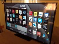 LUXOR 50-inch SUPER Smart 4K ULTRA LED TV,built in Wifi,Freeview HD,Netflix, in EXCELLENT CONDITION