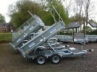 Tipper trailer dale Kane electric tipping trailer
