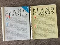 The Library of Piano Classics Vol. 1 and Vol. 2