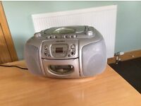 Bush cd, radio and tape player for sale
