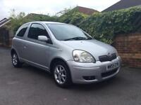 TOYOTA YARIS COLOUR COLLECTION LOW MILES FSH NEW MOT NEW SERVICE CHEAP READY TO GO