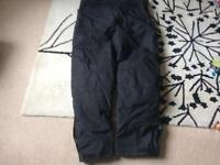 Motorcycle protection trousers