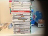 NINTENDO WII , 22 games with many accessories