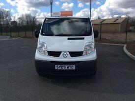 Renault Traffic 2009, Diesel, 12 months MOT, 3 months RAC warranty.