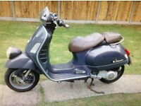 Vespa GTV 250ie Sought after scooter not many 250s for sale good investment