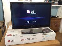 TV LED 26inch LG BOXED