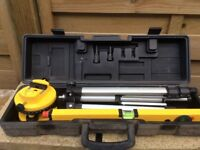 Level laser with level, used for sale  Edinburgh