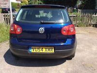 Dark metallic blue golf,alloy ,wheels 6 speed,ac,five door hatch