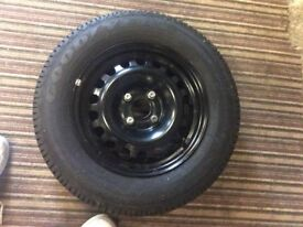 Four 185/70r14 Good year tyres on rims. Nearly new